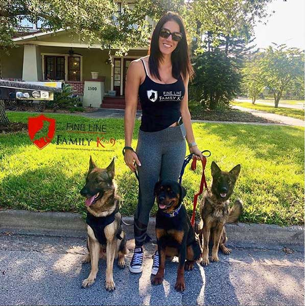 Ariana Family Protection Dog Trainer